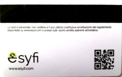 Fidelity card con QRcode